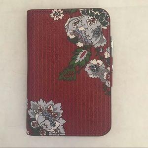 Vera Bradley Journal With Pen Bordeaux Blooms